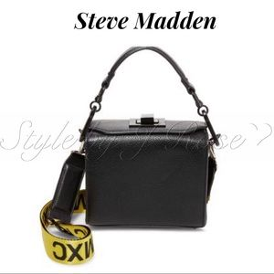 NWOT's Steve Madden Black Box Bag